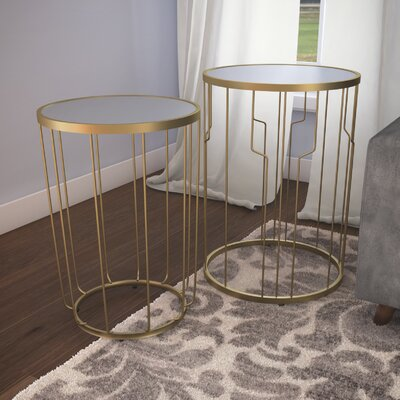 Egham 2 Piece Nesting Table