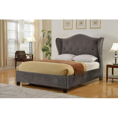 Achille Upholstered Platform Bed Size: King