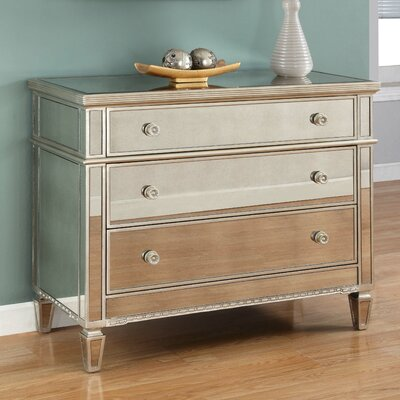 Alexios 3 Drawer Dresser