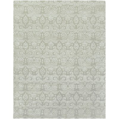 Moss/Gray Area Rug Rug Size: Rectangle 4 x 6