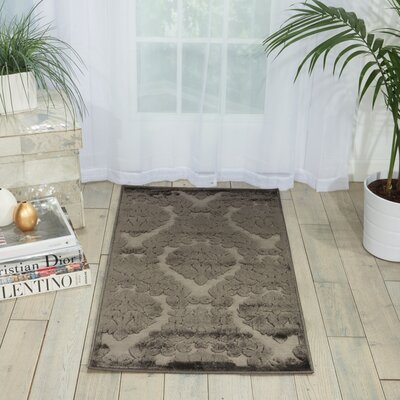 Hartz Silver/Gray Area Rug Rug Size: Rectangle 26 x 4