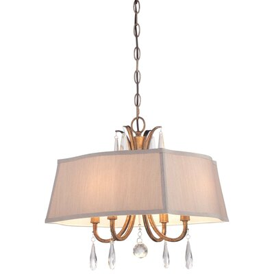 Hameldon 4-Light Pendant