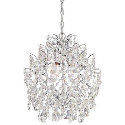 Clea 3-Light Crystal Chandelier