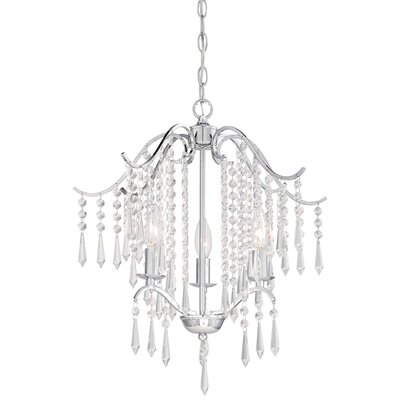 Bellamy 3-Light Crystal Chandelier