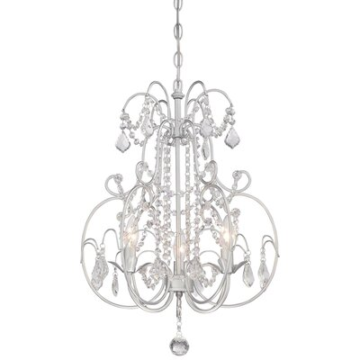 Cheaney 3-Light Crystal Chandelier