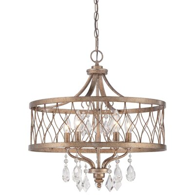 Cece 5-Light Drum Chandelier