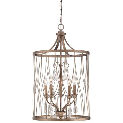 Cece 5-Light Foyer Pendant