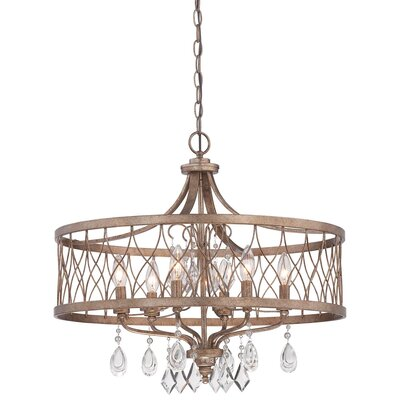 Cece 6-Light Drum Chandelier