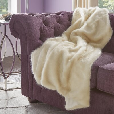 Looe Mink Throw