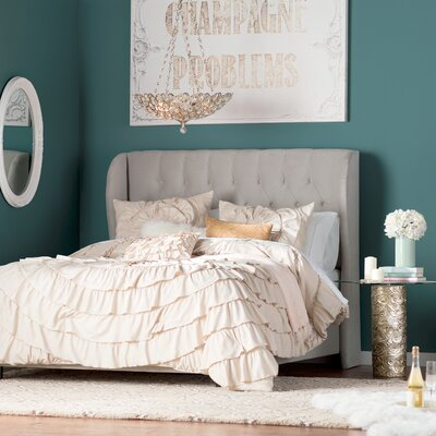 Rye 5 Piece Comforter Set Size: King, Color: Taupe