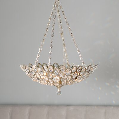 Rhode 5-Light Crystal Chandelier