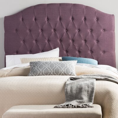Lesa Hanover Upholstered Headboard Size: Queen