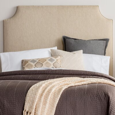 Rosalie Upholstered Panel Headboard Size: Queen