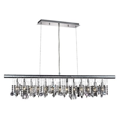 L�a 13-Light Kitchen Island Pendant
