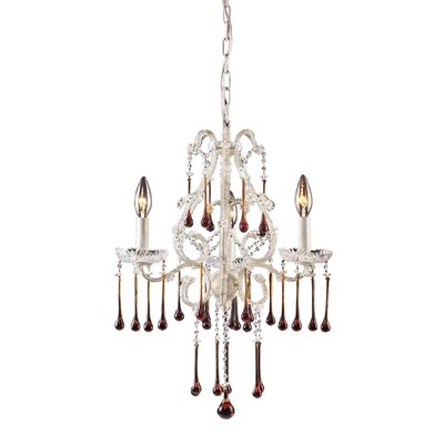 Atkins 3-Light Candle-Style Chandelier