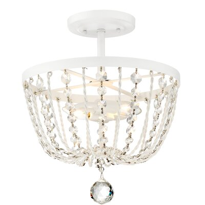 Hambleton 2-Light Semi Flush Mount