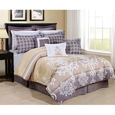 Hamill Comforter Set Size: King