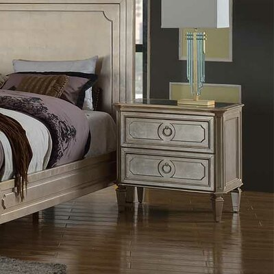 Ivers 2 Drawer Nightstand