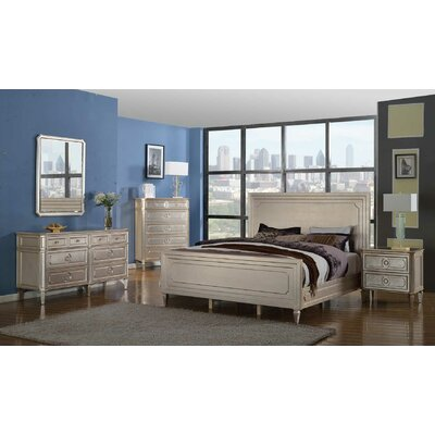 Brette Platform 5 Piece Bedroom Set Bed Size: King