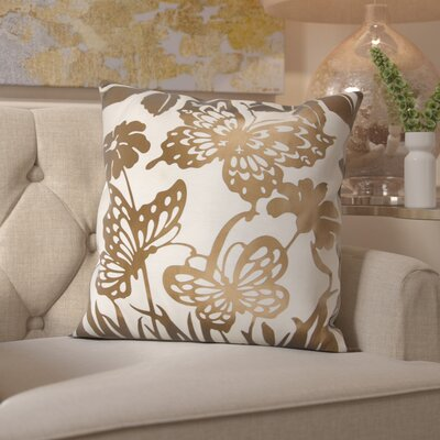 Hertzog Throw Pillow Color: Copper
