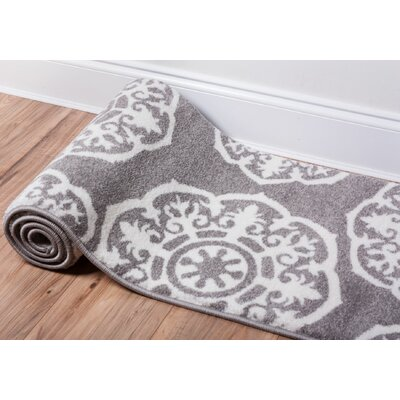 Dalston Gray Area Rug Rug Size: 23 x 311
