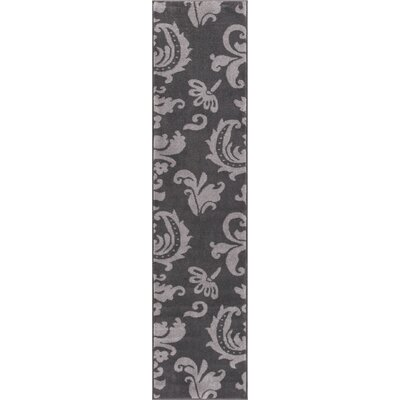 Dalston Gray Area Rug Rug Size: Runner 18 x 7