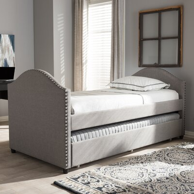Rubenstein Daybed with Trundle Bed Finish: Gray