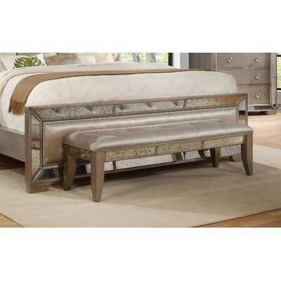 Chesmore Upholstered Bedroom Bench