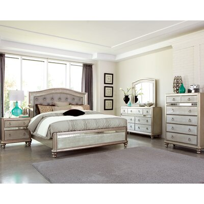 Annunziata Panel Customizable Bedroom Set