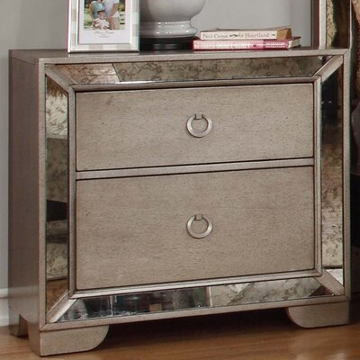 Dowson 2 Drawer Nightstand