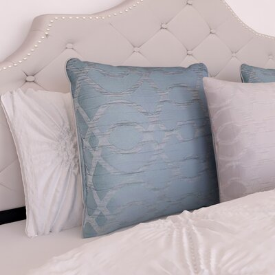Heroux Throw Pillow Color: Blue