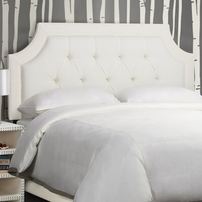 DianeTufted Upholstered Panel Headboard Size: Queen