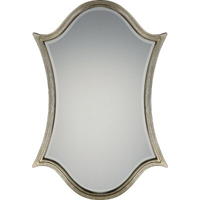 Leaf Design Wall Mirror Finish: Century Silver