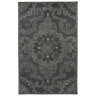 Bashford Hand Tufted Gray Area Rug Rug Size: 8 x 11