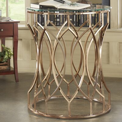 Goncalo Round End Table