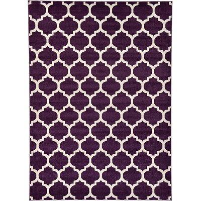 Barrand Purple Area Rug