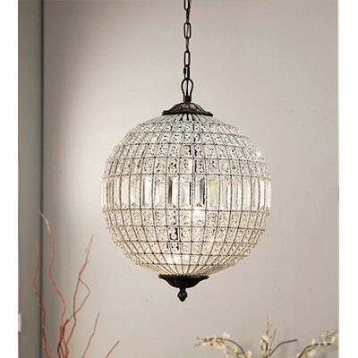 Chisnell 3-Light Crystal Chandelier