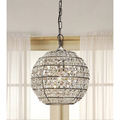 Charles 1-Light Globe Pendant