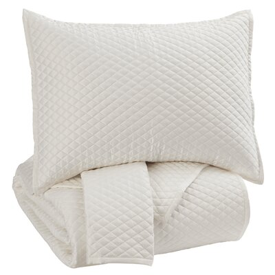Glynn 3 Piece Quilt Set Size: Queen