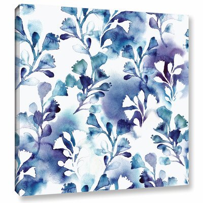 Bluebells Painting Print on Wrapped Canvas Size: 10
