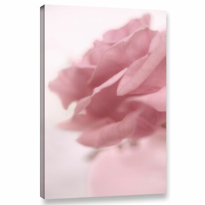 Rose 1 Graphic Art on Wrapped Canvas Size: 12