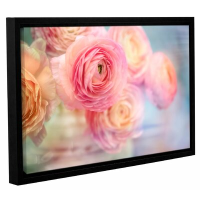 Glass Flowers Framed Photographic Print on Wrapped Canvas Size: 12