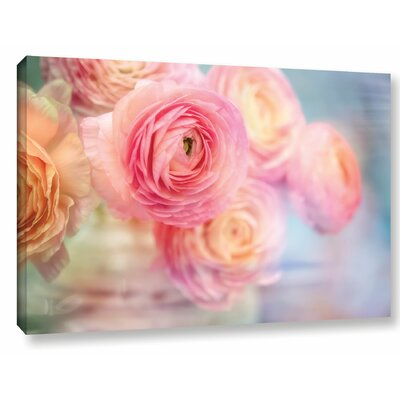 Glass Flowers Photographic Print on Wrapped Canvas Size: 12