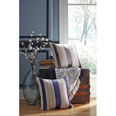 Barret Throw Pillow Color: Charcoal