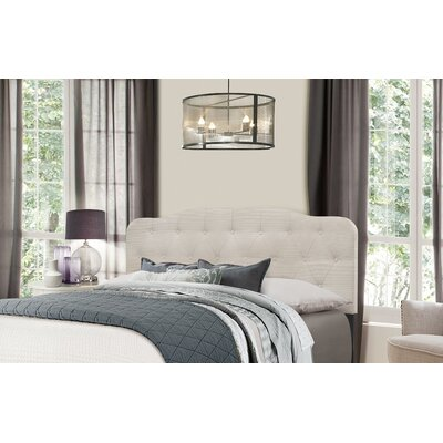 Chesterwood Upholstered Panel Headboard Size: Full/Queen, Upholstery: Fog