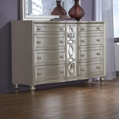 Redick 8 Drawer Double Dresser