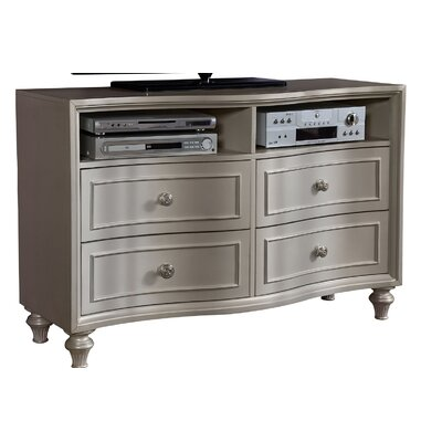 Redick 4 Drawer Media Chest
