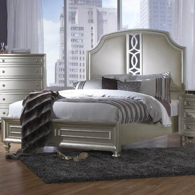Redick Upholstered Panel Bed Size: King