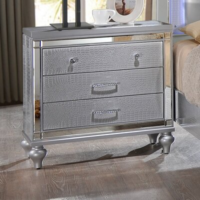 Regents 3 Drawer Nightstand