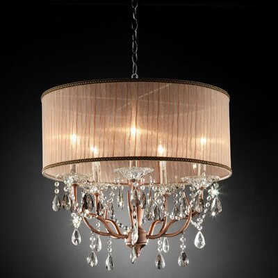 Ballinderry 5-Light Drum Chandelier